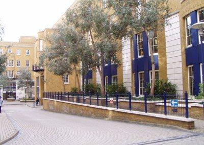Exterior Landscaping Office Development, London Botanical